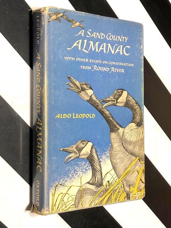 A Sand County Almanac by Aldo Leopold (1966) hardcover book