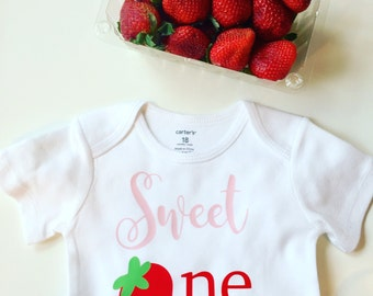 strawberry first birthday strawberry birthday, first birthday, girls birthday, strawberry outfit, cake smash