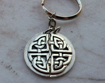 Permanent-Knot Keychain Pendant
