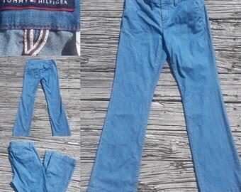 Vintage 90s jeans, vintage 90s, Tommy Hilfiger,  blue jeans jeans, vintage jeans