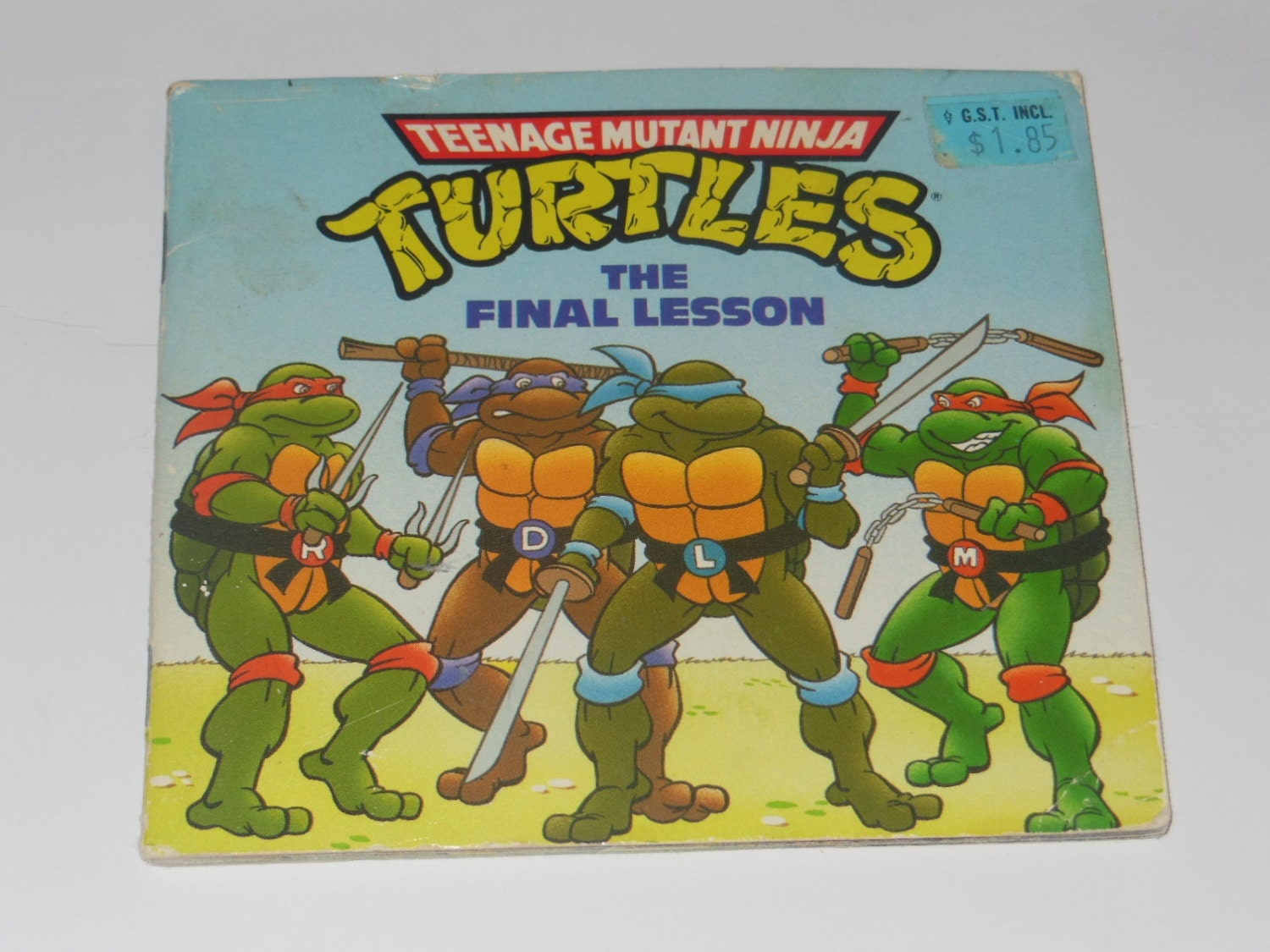 Teenage Mutant Ninja Turtles die letzte Lektion Vintage
