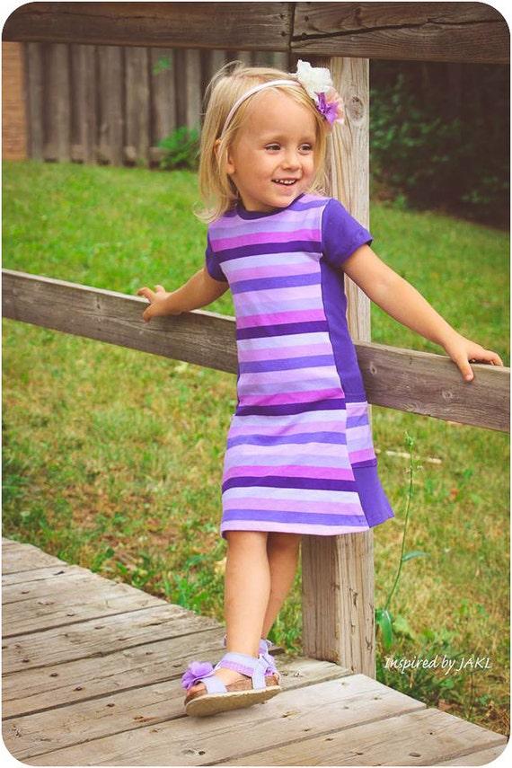 Violet Tunic and Dress: Girls Dress PDF Sewing Pattern Tunic