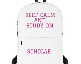 Study On Scholar Backpack