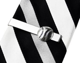 Baseball Tie Clip