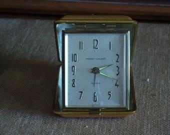 Phinney-Walker Folding Travel Alarm Clock Germany