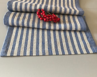 linen table runner / linen tablecloth / linen runner / rustic linen runner