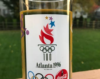 1996 Atlanta Olympics glass cup