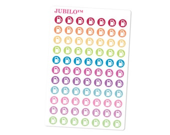 Planner Stickers - Gas Pump Icons - Fits Any Planner!