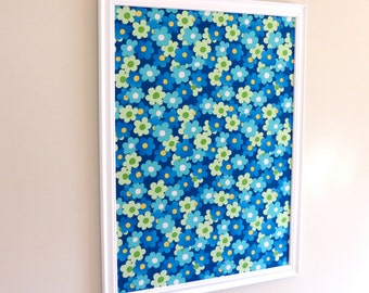 Blue Daisy Pin Board Jewelry Board Organizer