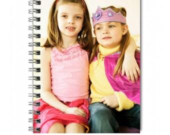 Photo cover Notebook- Kids photo cover Notebook-Blank pages photo cover journal- Photo Notebook. Back to School. School Supplies.
