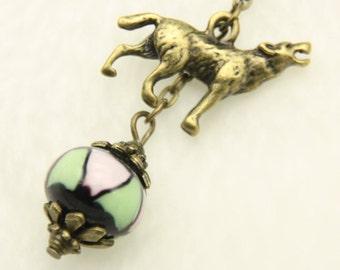 Wolf Necklace, Wolf jewelry
