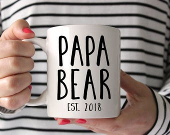 New Grandpa, Grandpa Mug, Father's Day Mug, Dad Gift, Dad Mug, Papa, Papa Bear, Grandpa gift, New Dad, Gift for Papa, Gift for Dad, Papa Mug