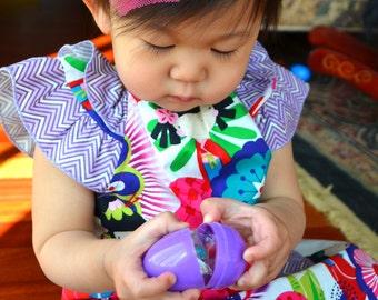 Sutton Kokeshi Dress 12-18, 18-24, 2T, 3T, 4T, 5, 6  infant, toddler, little girls dress Birthday