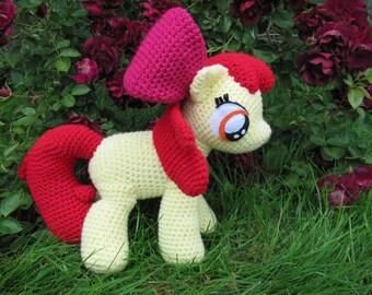 Apple Bloom Pattern - My Little Pony