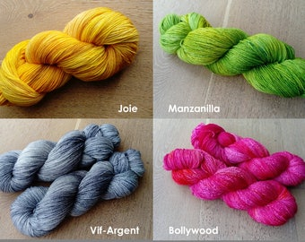 KHM yarn - Dyed to order