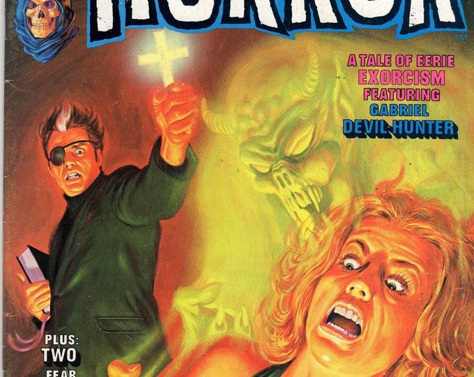 Curtis The Haunt Of Horror Magazine Horror  #4 November 1974 Issue FN/VF