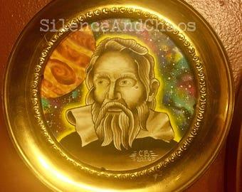 Galileo Galilei - framed original painting