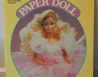 Wonderful Vintage Barbie Paper Dolls - GOLDEN 1991 - #1502-2
