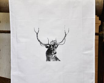 Tea Towel - The 'Royal Collection' - Stag