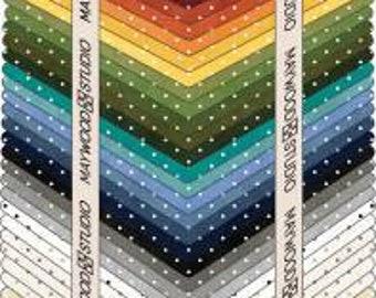 Fabric-Maywood Studio Fabric -Fat Quarter Bundle-Classic Dots-46 Fat Quarters -Free Shipping