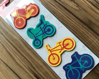 Set of 4 Bicycle Magnets