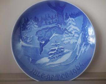 Annual Holiday 1964 Royal Copenhagen Plate