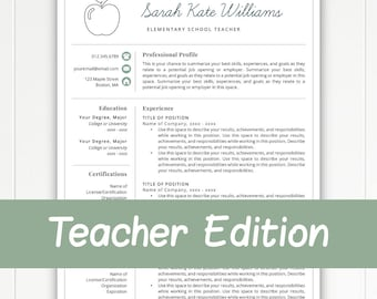 teacher resume template for word pages teacher template teacher cv resume for - Teacher Resume Template