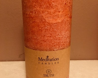 Truth - Meditation Candle -  Infused with Rosemary & Bay Oil