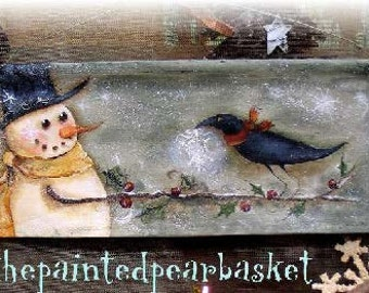 A Sweet Gift - Painted by Terrye French, E-Pattern