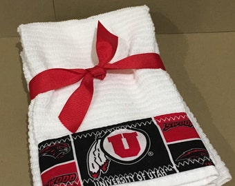 University of Utah  Hand Towels