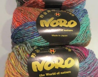 Wool Silk Garden NORO, 4 colors to choose from, silk mohair and wool, 50 g 100 meter