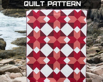 Starlight Crystals Quilt Pattern - A Pattern Digital Download (PDF) by Quilting Jetgirl