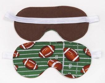 Football Sleeping Eye Mask  Spa Eye Mask Sleep over party favor