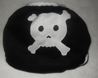 Skull butt  diaper cover