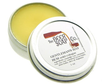 Pick Your Solid Cologne Beard Wax Moustache Wax for Men by The Beer Soap Company 1 oz