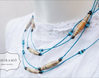 Long Versatile Paper Bead String