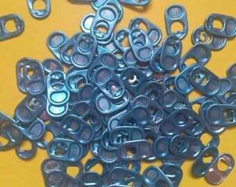 100 CAPSULES MONSTER blue cleaned aluminum