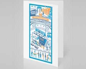 Old Spitalfields Market, London card