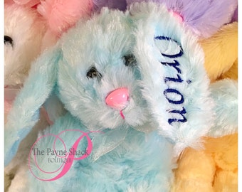 Easter Bunny with name, Personalized Bunny, Easter Basket Gift