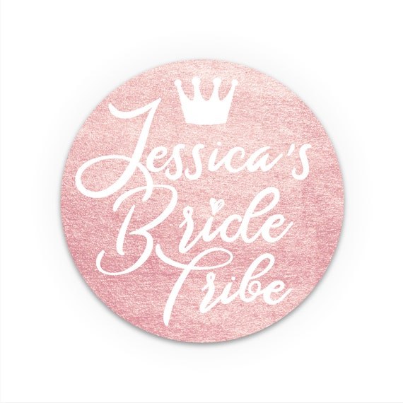 Bride Tribe Stickers Bachelorette Party Labels Custom Hen Party Stickers Personalized Sticker Labels Hen Do Accessories Hen Party Favour