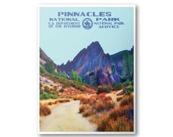 Pinnacles National Park Poster