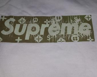 Vintage  SUPREME LV Faded Box Logo Tshirt