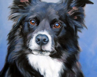 """Custom Pet Portrait Paintings, oil painting, painting from your photos, 16x20"""""""