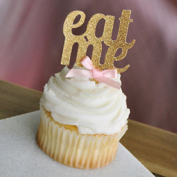 Eat Me Cupcake Decoration