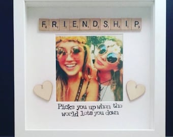 Friendship picks you up when the world lets you down