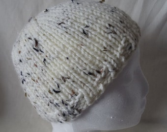Hand Knitted Chunky Beanie