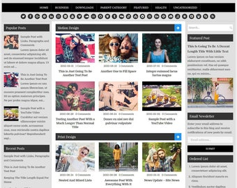 EasyWP Blogger Template