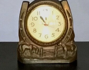 Vintage 1950s Sessions Western Clock