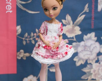 dress outfit for monster high doll  MH 27 cm Ever after high  1/6 eah