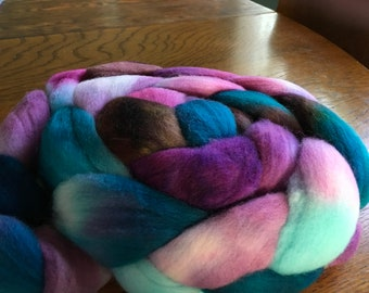 DESTASH SALE:4oz Organic Polwarth Wool Roving